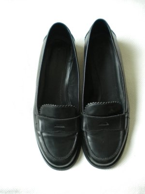 Marc O'Polo Penny Loafer Slipper Mokassins Gr.40 schwarz Leder