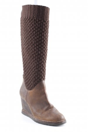 Marc O'Polo Platform Boots black brown-brown casual look