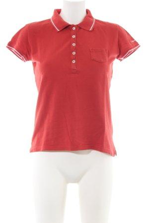 Marc O'Polo Polo-Shirt rot Casual-Look
