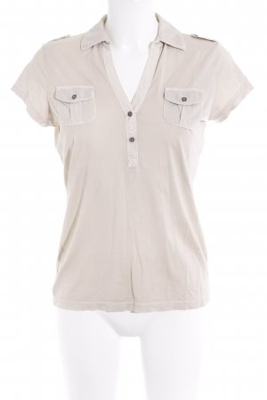 Marc O'Polo Polo-Shirt beige Casual-Look