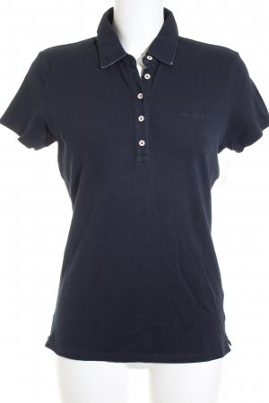 Marc O'Polo Polo-Shirt dunkelblau Casual-Look