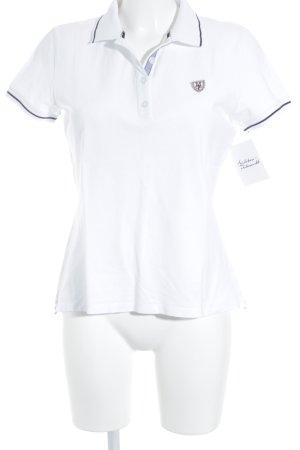 Marc O'Polo Polo-Shirt mehrfarbig Logo-Applikation