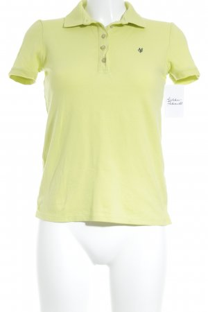Marc O'Polo Polo-Shirt neongrün Casual-Look