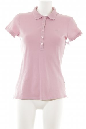 Marc O'Polo Polo-Shirt rosa Casual-Look