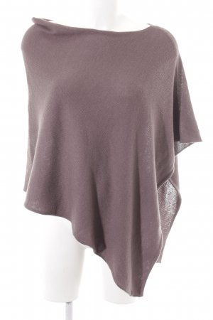 Marc O'Polo Poncho grey brown casual look