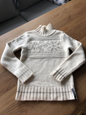 Marc O'Polo Norwegian Sweater natural white-grey brown merino wool