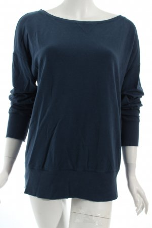 Marc O'Polo Pullover dunkelblau Casual-Look