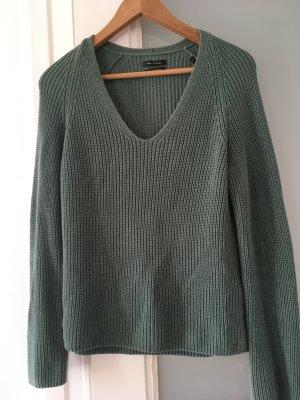 Marc O'Polo Pullover Wollpullover Strickpullover mintgrün