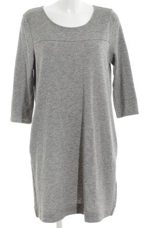 Marc O'Polo Robe pull gris clair moucheté style décontracté