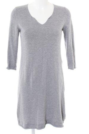 Marc O'Polo Abito maglione grigio chiaro puntinato stile casual