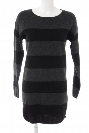 Marc O'Polo Sweater Dress black-dark grey striped pattern casual look