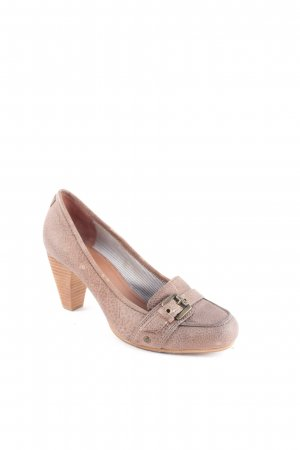 Marc O'Polo Pumps graubraun Casual-Look