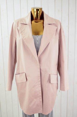 MARC O'POLO PURE Damen Mantel Baumwolle Elastan Oversized Rosa Gefüttert Gr.36