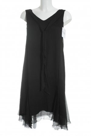 Marc O'Polo Pure Volantkleid schwarz Elegant