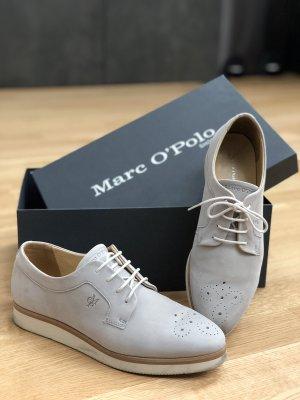 Marc O'Polo Zapatos Oxford con puntera gris claro