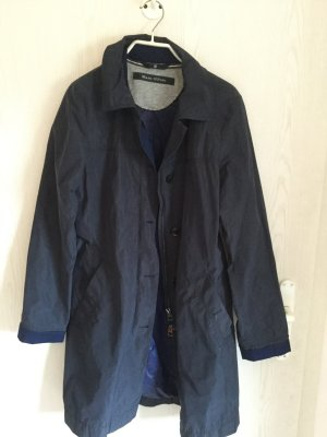 Marc O Polo,Regenmantel,Trenchcoat, Blau,Gr. S, OutdoorExperience