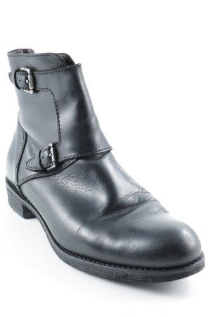 Marc O'Polo Reißverschluss-Stiefeletten schwarz Casual-Look