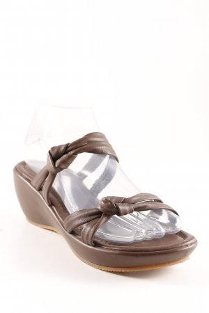 Marc O'Polo Riemchen-Sandalen braun Beach-Look
