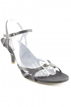 Marc O'Polo Strapped High-Heeled Sandals black classic style