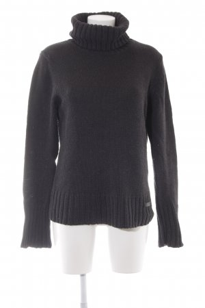 Marc O'Polo Rollkragenpullover anthrazit Casual-Look