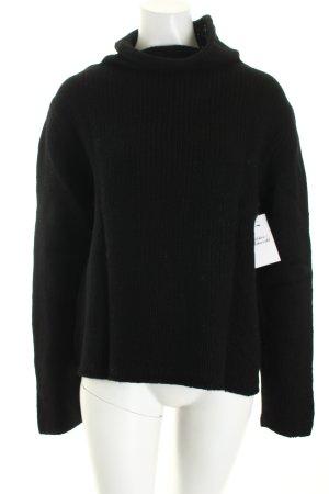Marc O'Polo Rollkragenpullover schwarz Casual-Look