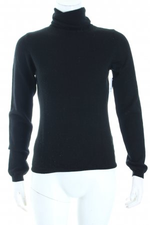 Marc O'Polo Rollkragenpullover schwarz schlichter Stil