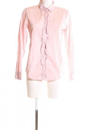 Marc O'Polo Rüschen-Bluse pink Business-Look