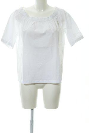 Marc O'Polo Rüschen-Bluse weiß