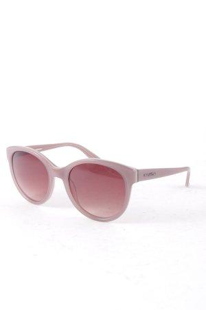 Marc O'Polo runde Sonnenbrille graubraun klassischer Stil
