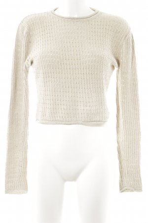 Marc O'Polo Rundhalspullover hellbeige Casual-Look