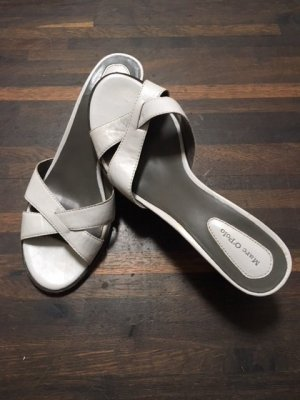 Marc O'Polo High-Heeled Sandals white leather