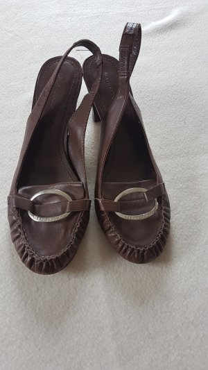 Marc O'Polo Slingback Pumps brown