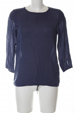 Marc O'Polo Schlupf-Bluse blau Casual-Look