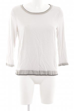 Marc O'Polo Slip-over blouse wit simpele stijl