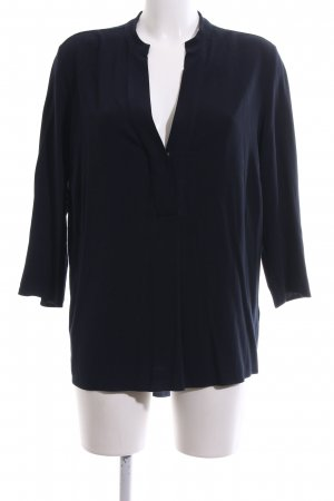 Marc O'Polo Schlupf-Bluse blau Business-Look