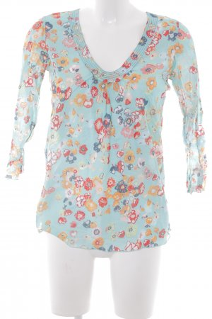 Marc O'Polo Slip-over blouse bloemenprint Beach-look