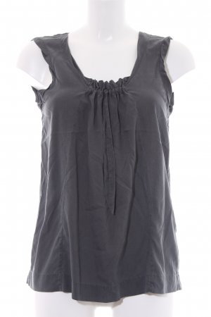 Marc O'Polo Slip-over blouse leigrijs casual uitstraling