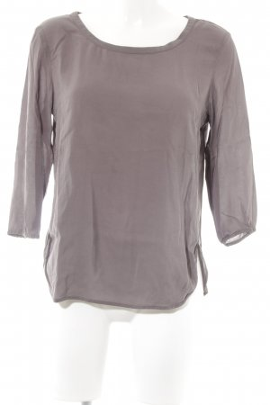 Marc O'Polo Schlupf-Bluse taupe Casual-Look