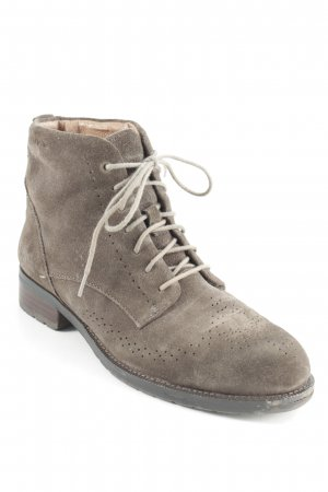 Marc O'Polo Lace-up Booties dark brown-grey brown casual look