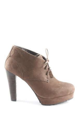 Marc O'Polo Lace-up Booties light brown casual look