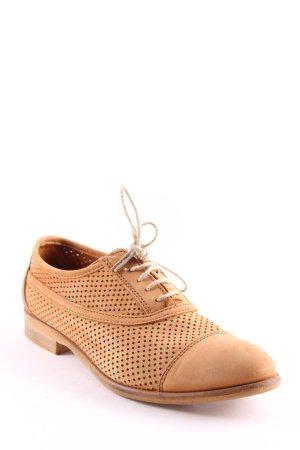 Marc O'Polo Zapatos brogue marrón claro look casual