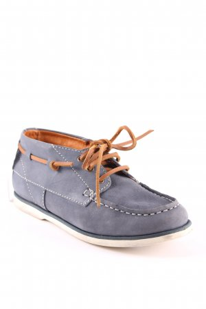 Marc O'Polo Zapatos brogue azul aciano look casual
