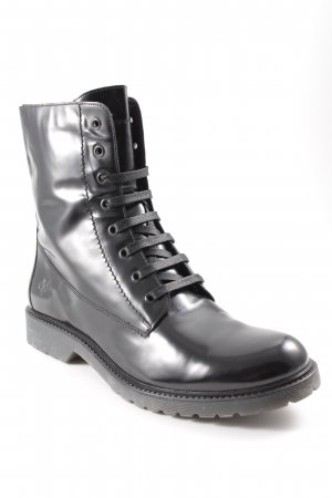 Marc O'Polo Lace-up Boots black biker look