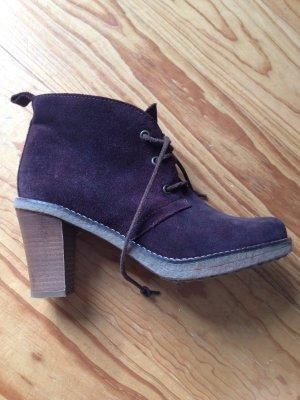 Marc O'Polo Schuhe Stiefeletten Größe 38 Lila