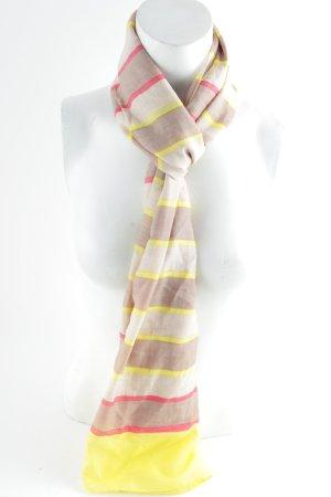 Marc O'Polo Zijden sjaal gestreept patroon casual uitstraling
