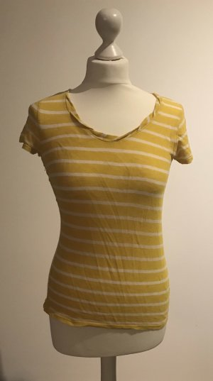 Marc O'Polo Camiseta amarillo-blanco