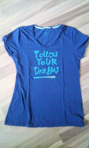 Marc O'Polo Camiseta azul neón Algodón