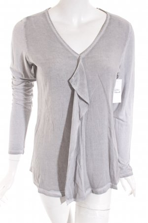 Marc O'Polo Shirt grau Casual-Look