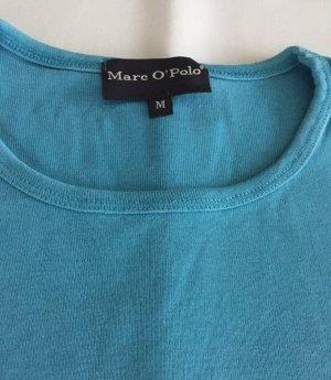 Marc O'Polo Shirt in aqua-blau, Gr. 42