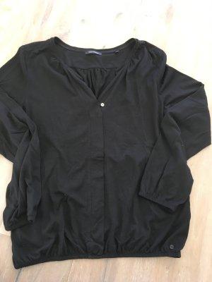 Marc O'Polo Camisa con cuello V negro modal